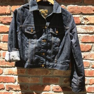 Michael Kors dark wash denim jacket NEW